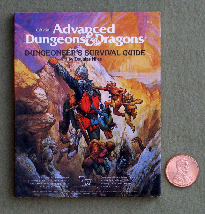 Image for Dungeoneer's Survival Guide (Miniature AD&D Collector's Edition)