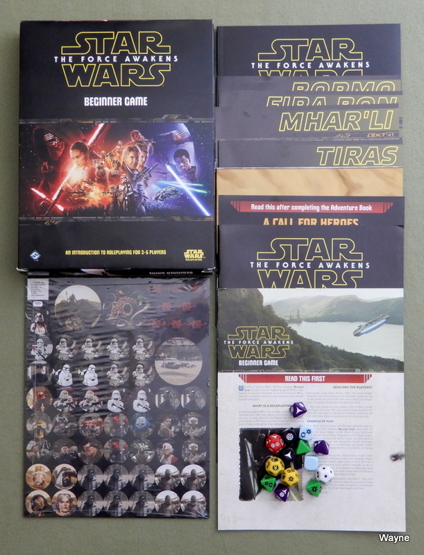 Image for Star Wars The Force Awakens Beginner Game (Star Wars Role Playing Game)
