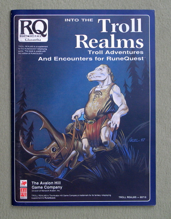Image for Into the Troll Realms: Troll Adventures and Encounters for RuneQuest