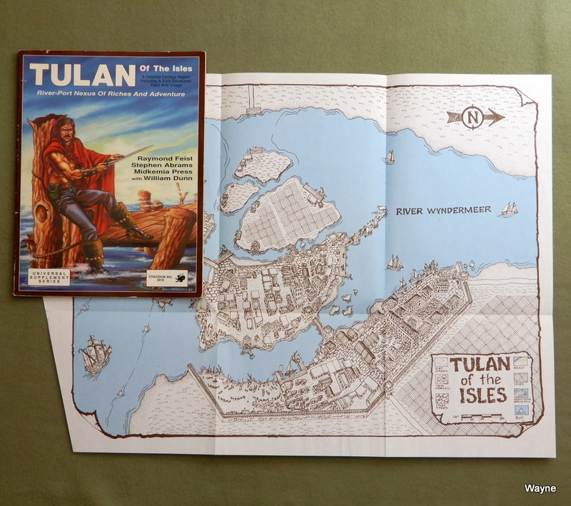 Image for Tulan of the Isles: River-Port Nexus of Riches and Adventure (Midkemia)