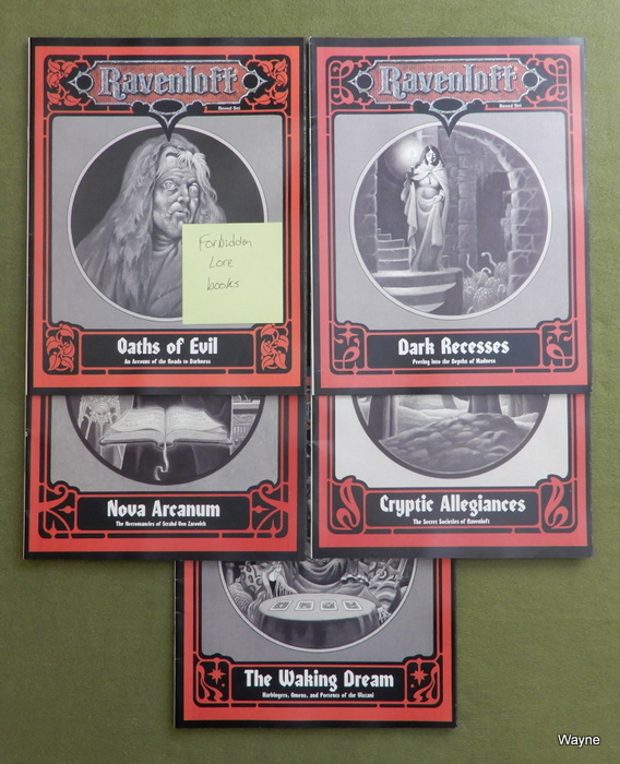 Image for Forbidden Lore (AD&D: Ravenloft) - BOOK SET
