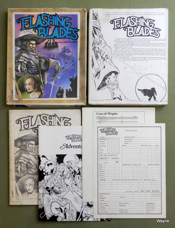 Image for Flashing Blades: Three Musketeers Roleplaying - PLAY SET