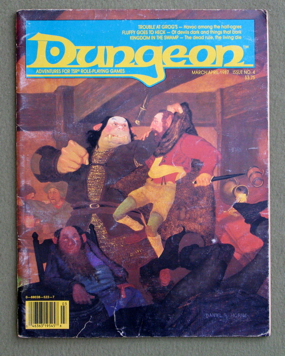 Image for Dungeon Magazine, Issue 4