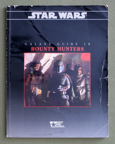 Image for Galaxy Guide 10: Bounty Hunters (Star Wars RPG) - PLAY COPY