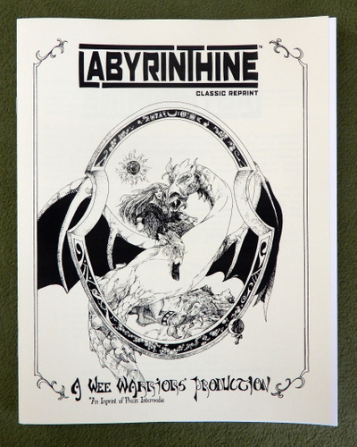 Image for Labyrinthine (Wee Warriors Classic Reprint)