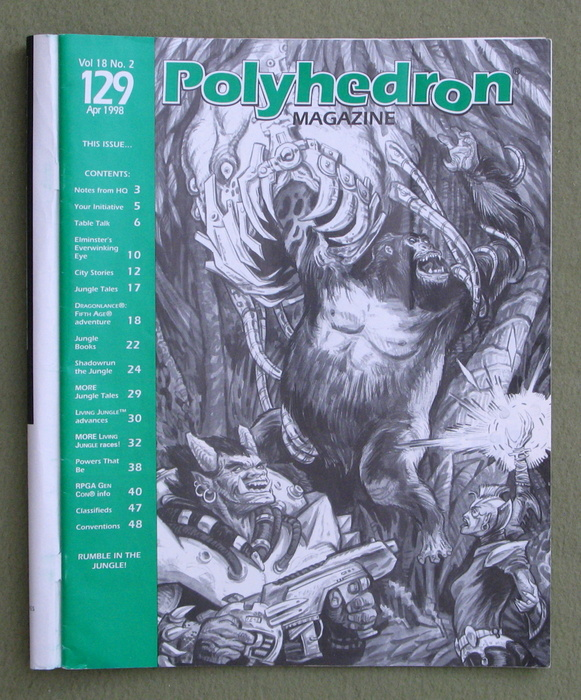 Image for Polyhedron Magazine, Issue 129