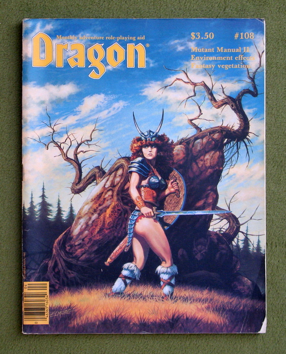Image for Dragon Magazine, Issue 108