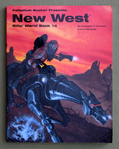 Image for New West (Rifts World Book 14)