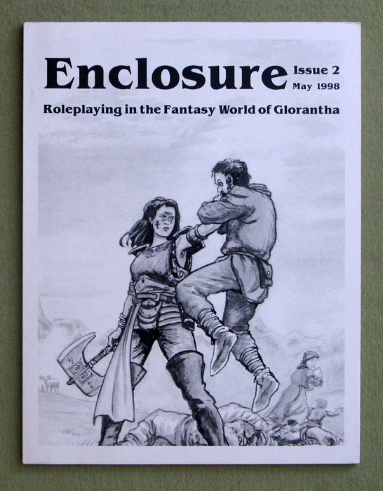 Image for Enclosure, Issue 2 (Roleplaying in the Fantasy World of Glorantha)