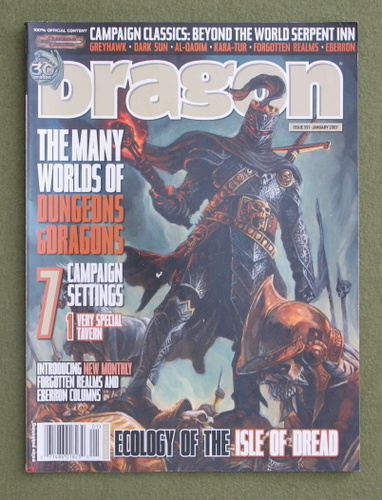 Image for Dragon Magazine, Issue 351