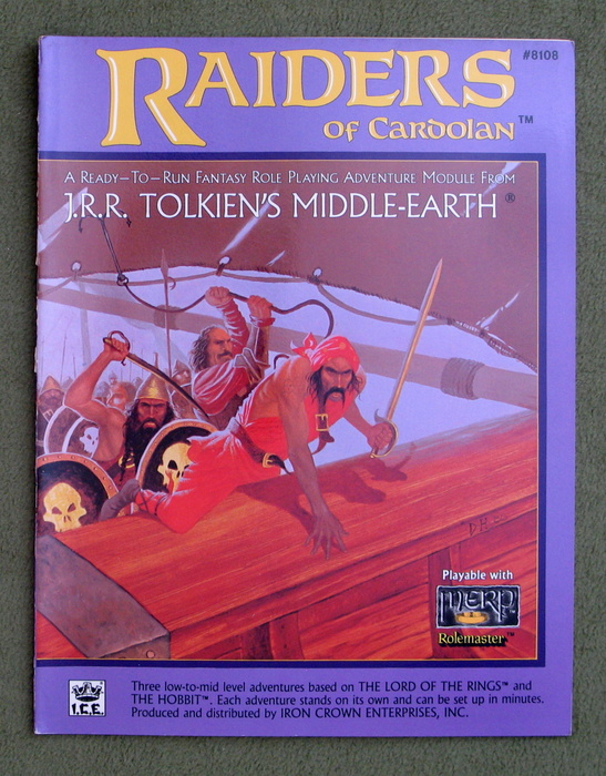 Image for Raiders of Cardolan (Middle Earth Role Playing/MERP)