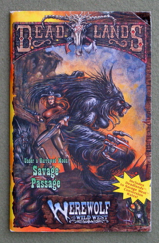 Image for Savage Passage (Deadlands: The Weird West Dime Novels)