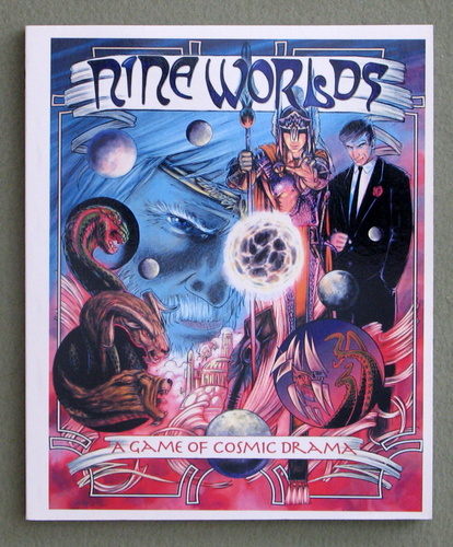 Image for Nine Worlds: A Game of Cosmic Drama