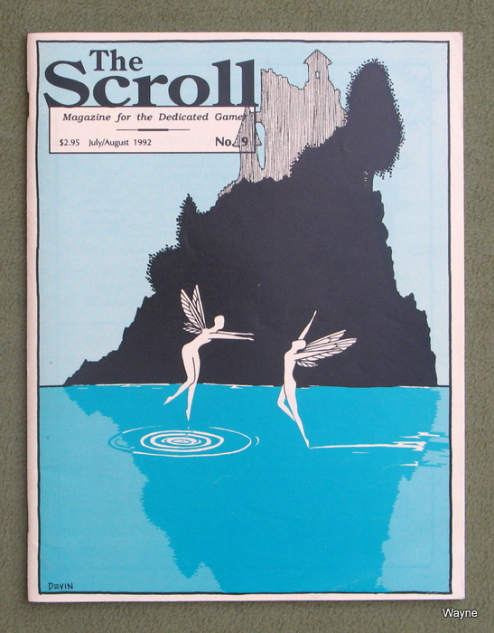 Image for The Scroll, Issue 9: Magazine for the Dedicated Gamer