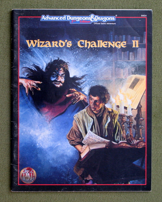 Image for Wizard's Challenge II (Advanced Dungeons & Dragons, 2nd Edition)