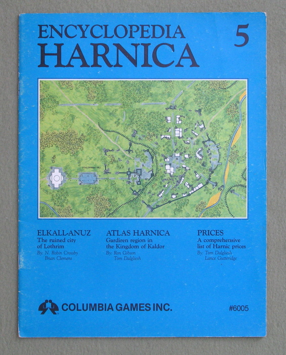 Image for Encyclopedia Harnica 5 (Harn Fantasy RPG Setting)