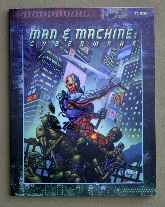 Image for Man & Machine: Cyberware (Shadowrun RPG)