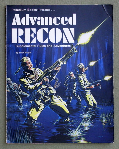 Image for Advanced Recon: Supplemental Rules and Adventures