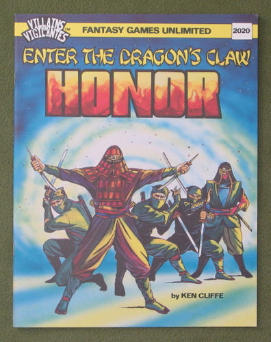 Image for Honor: Enter the Dragon's Claw (Villains & Vigilantes)