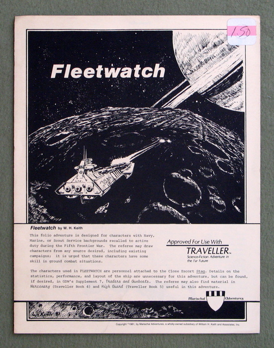 Image for Fleetwatch (Traveller: Marischal Adventures)