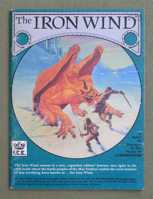 Image for The Iron Wind, 2nd Edition (Loremaster/Rolemaster)