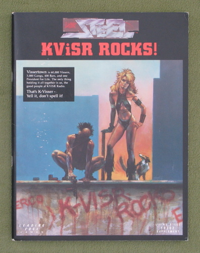 Image for KViSR Rocks! (Living Steel RPG)