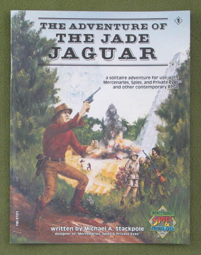 Image for The Adventure of the Jade Jaguar (Mercenaries, Spies, and Private Eyes)
