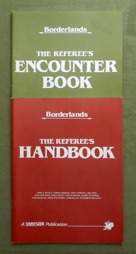 Image for Encounter Book & Referee's Handbook (Borderlands: Runequest)