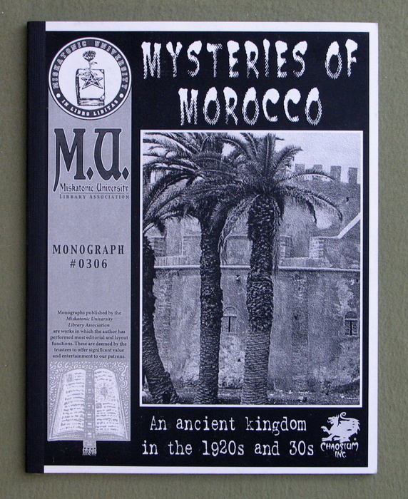 Image for Mysteries of Morocco (Call of Cthulhu Monograph)