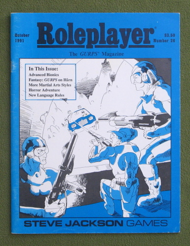 Image for Roleplayer, Number 26: The GURPS Magazine