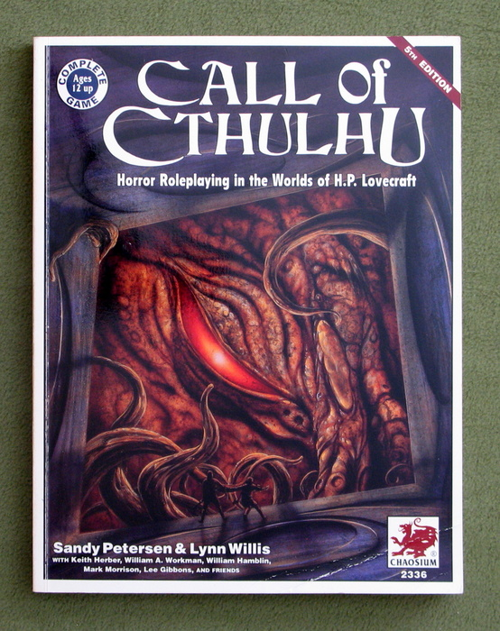 Image for Call of Cthulhu: Horror Roleplaying in the Worlds of H.P. Lovecraft (5th Edition)