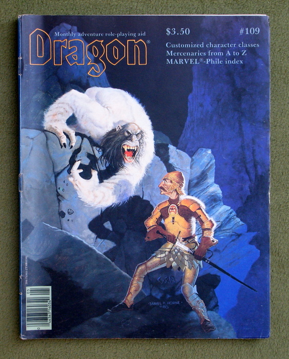 Image for Dragon Magazine, Issue 109