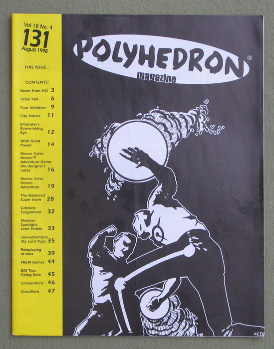 Image for Polyhedron Magazine, Issue 131