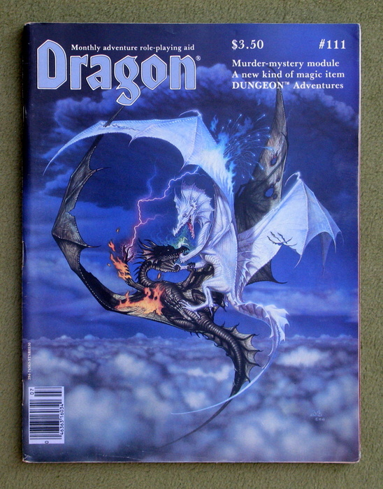 Image for Dragon Magazine, Issue 111
