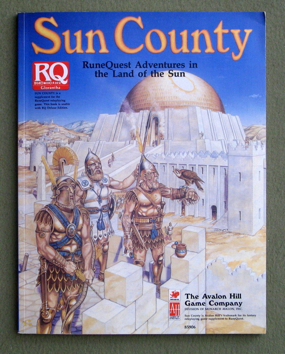 Image for Sun County: Runequest Adventures in the Lands of the Sun
