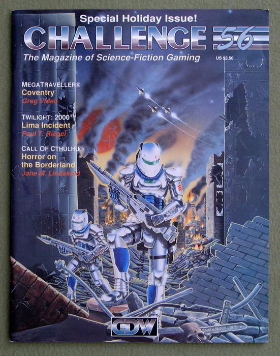 Image for Challenge Magazine, Issue 56