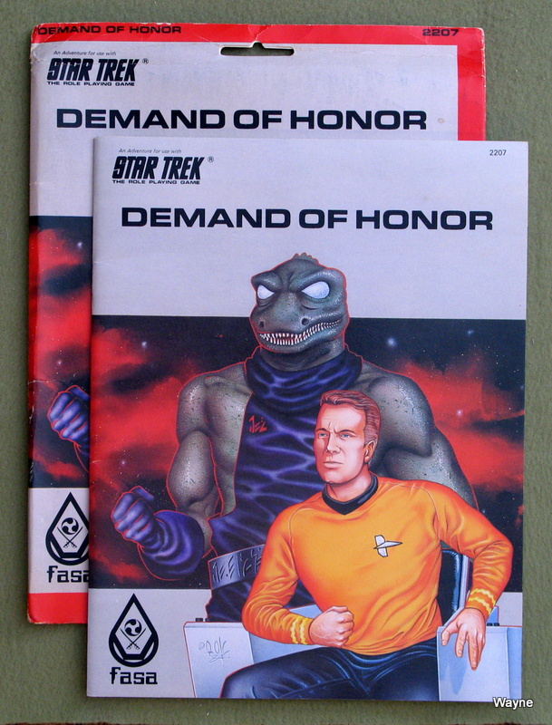 Image for Demand of Honor (Star Trek the Roleplaying Game)