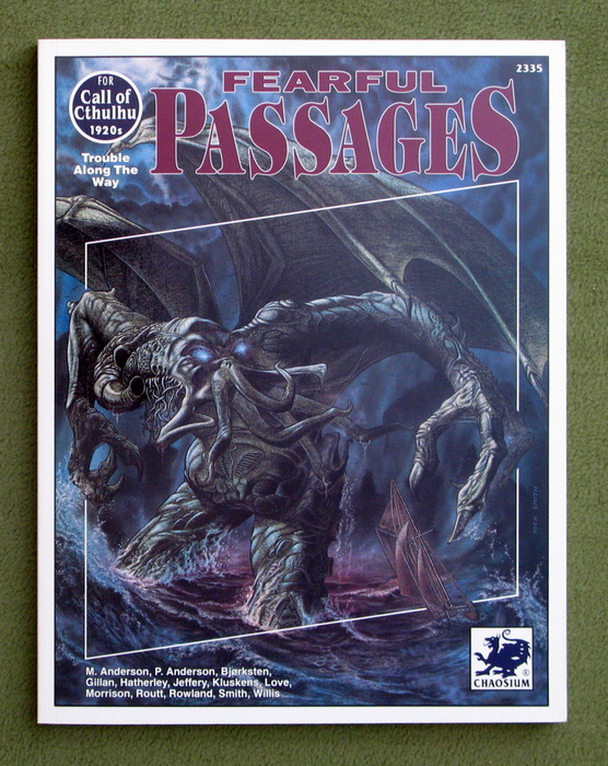 Image for Fearful Passages (Call of Cthulhu RPG)