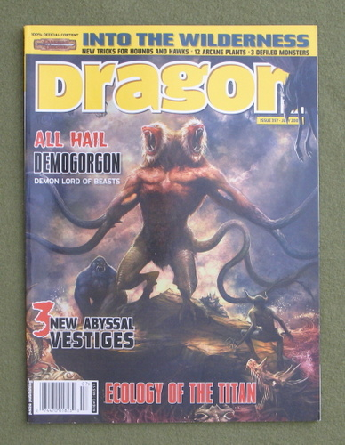Image for Dragon Magazine, Issue 357