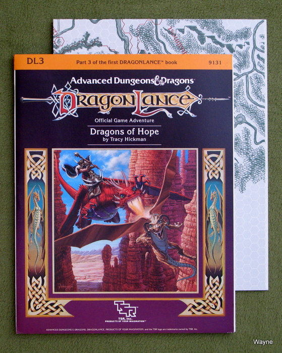 Image for Dragons of Hope (Advanced Dungeons & Dragons: Dragonlance module DL3)