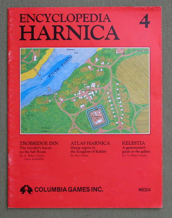 Image for Encyclopedia Harnica 4 (Harn Fantasy RPG Setting)
