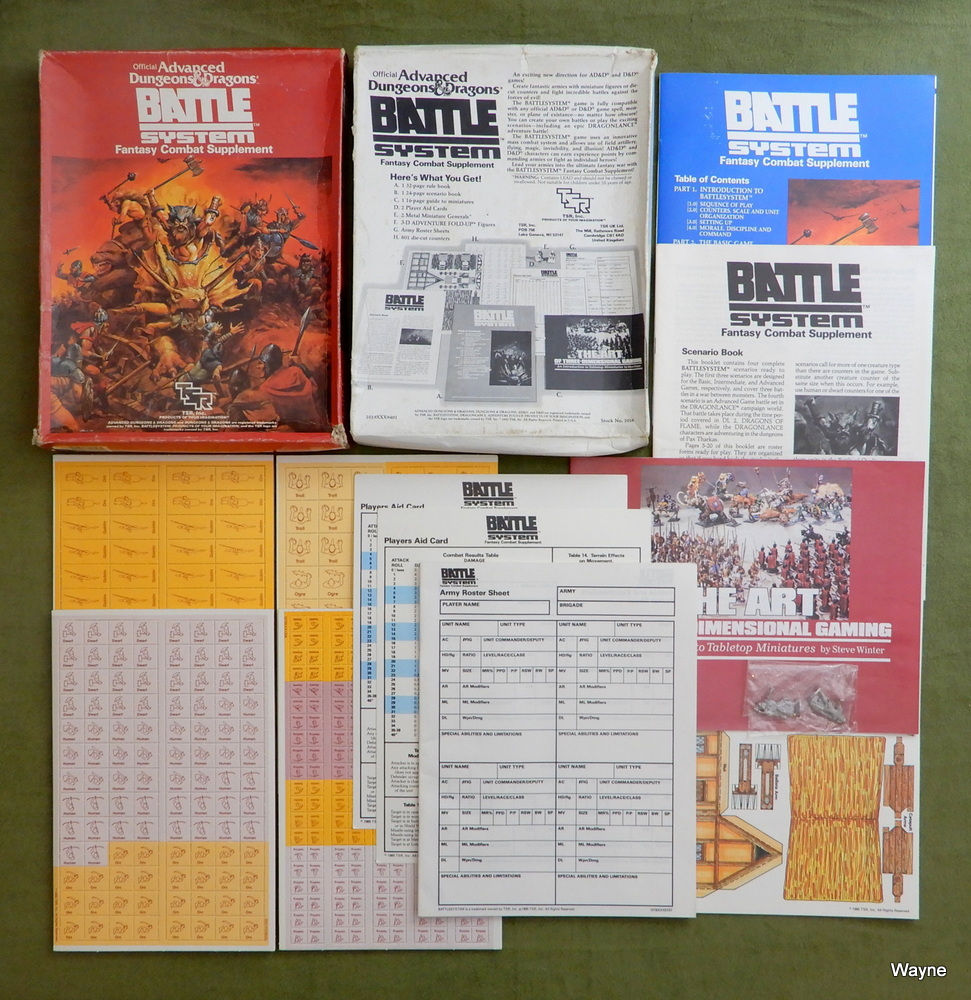 Image for Battlesystem: Fantasy Combat Supplement (Advanced Dungeons & Dragons)