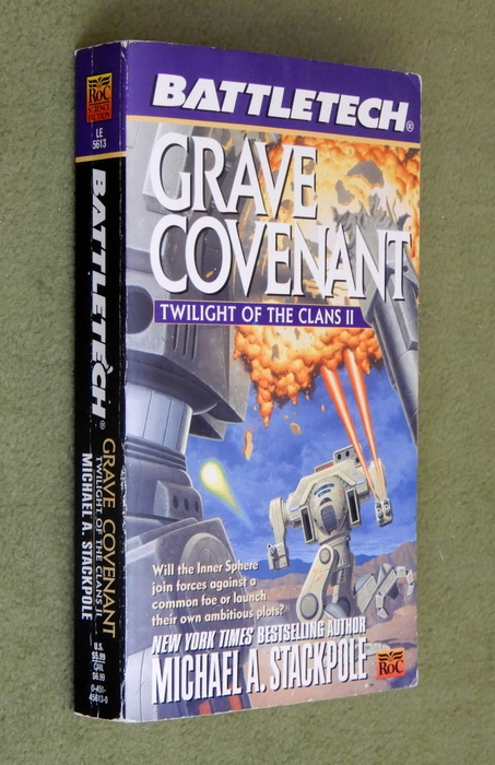 Image for Grave Covenant: Twilight of the Clans II (Battletech)