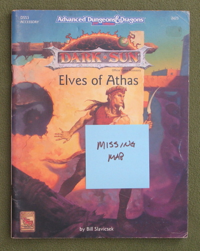 Image for Elves of Athas (AD&D: Dark Sun DSS3) - NO MAP