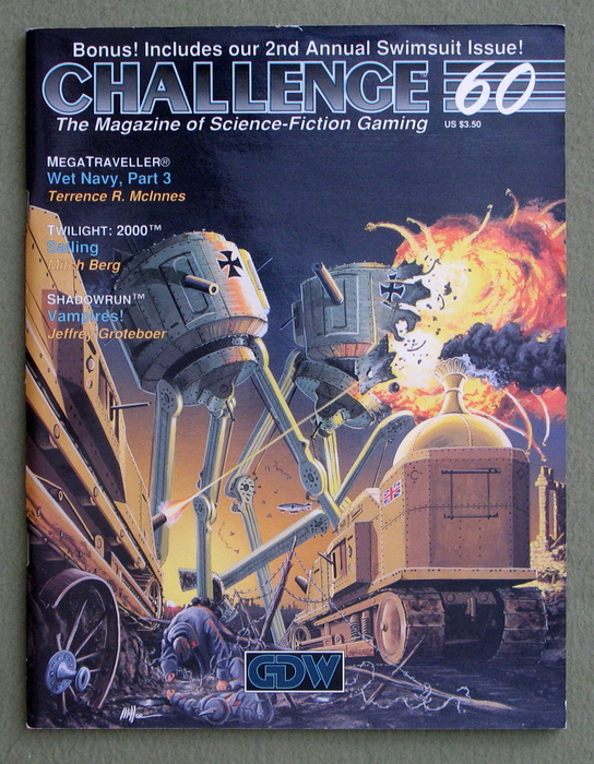 Image for Challenge Magazine, Issue 60
