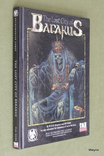 Image for The Lost City of Barakus (Dungeons & Dragons D20 system)