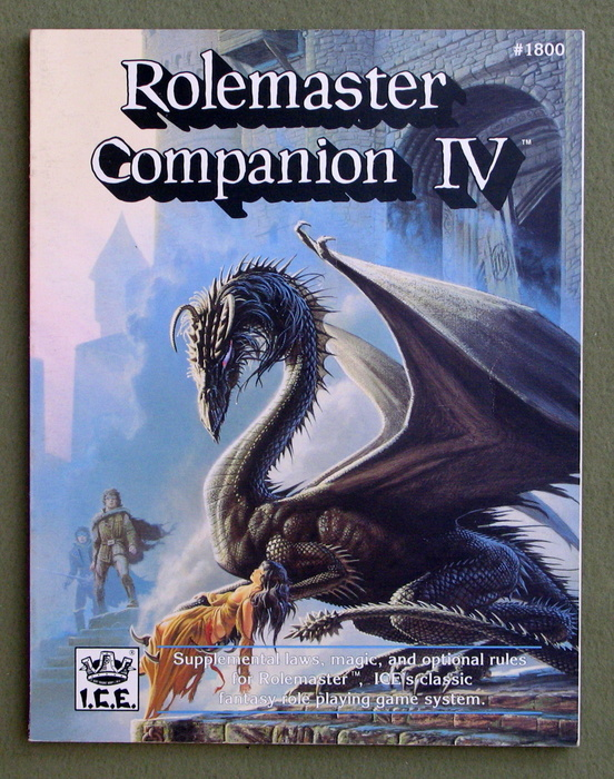 Image for Rolemaster Companion IV