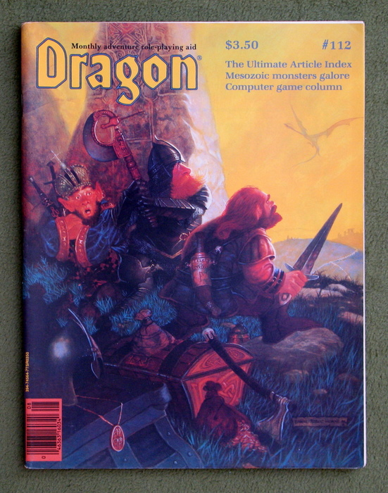 Image for Dragon Magazine, Issue 112
