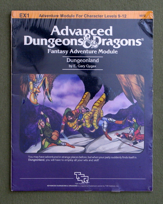 Image for Dungeonland (Advanced Dungeons & Dragons Module EX1)