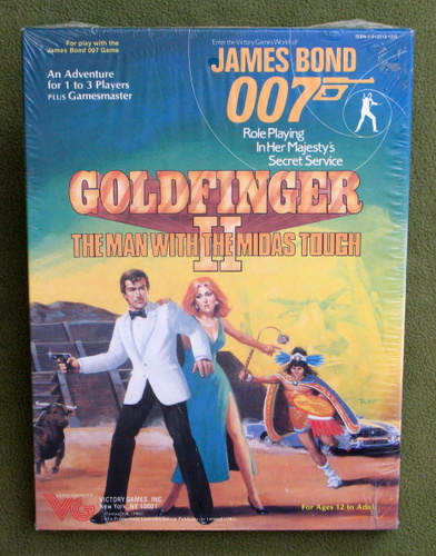 Image for Goldfinger II - The Man With The Midas Touch (James Bond 007 RPG)